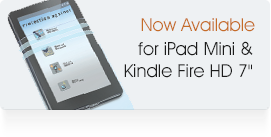Now Available - iPad Mini Covers & Kindle Fire Sleeves